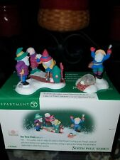 North Pole Tee Time Elves - set of 2 - Dept 56- Item #56-56442