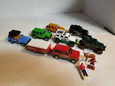 Pre-Owned Matchbox Lot of  8 Jeep' 4x4 & Camper Cherokee Wrangler Liberty JL 4dr