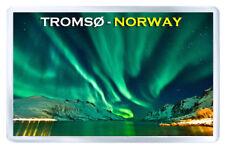 TROMSØ NORWAY AURORA BOREALIS MOD2 FRIDGE MAGNET SOUVENIR IMAN NEVERA