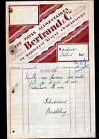 """GRIGNY (69) USINE de PATES ALIMENTAIRES LYONNAISES """"BERTRAND & Cie"""" en 1933"""