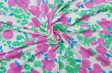 Cotton Modal Spandex Big Flower Print #16 Fabric Jersey Knit by the yard 8/16