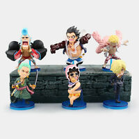 hot LUFFY MINI  figure figures Set of 6pcs with box PVC Auction collection