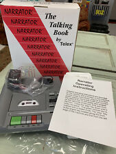 """The Talking Book """"Narrator"""" By telex"""