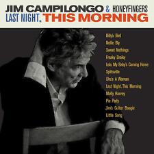 Jim Campilongo & Honeyfingers - Last Night, This Morning LP NEW + DOWNLOAD