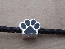 DOG PAW STERLING SILVER 925 CHARM BRACELET BEAD FREE GIFT BOX