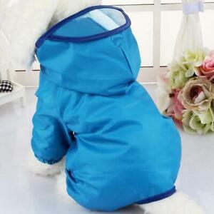 Dog Rainwear Raincoat Pet Clothes Dogs Poncho Puppy Dog Jumpsuit Clothing Spring