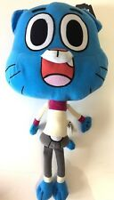 "New The Amazing World Of Gumball WATTERSON Plush Stuffed Toy.Large 14"". Licensed"