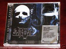 Khold Morke Gravers Kammer CD ECD 2012 Bonus Track Peaceville UK CDVILED392H NEW