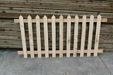 More details for picket fence