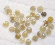 1.01ct Natural Rose cut Loose Diamond Yellow Rose cut Diamond Chakri 3.0-4.0MM 0
