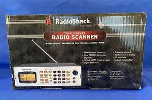 Radio Shack PRO-163 Triple Trunking 1000 Channel Radio Scanner w/original Box