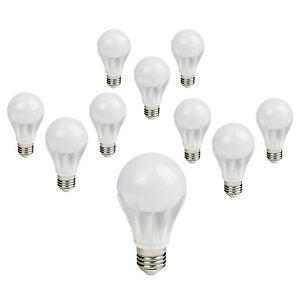 10 x Energy Saving GLS Globe Lantern Light Bulbs 6w LED Edison Screw Cap ES E27