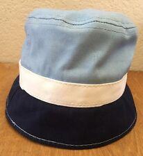 Vintage Goorin Brothers Bucket Hat Unisex Blue/White