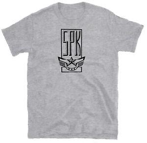 SPK 'Logo' T-shirt, Throbbing Gristle, Severed Heads, Psychic TV, Whitehouse