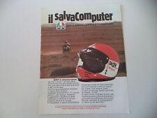 advertising Pubblicità 1984 CASCO HEMET AGV X210 ENDURO