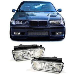 Klarglas Nebelscheinwerfer für BMW 3ER E36 Limousine Coupe Cabrio Touring
