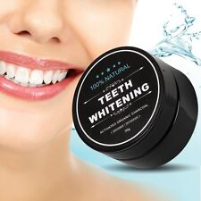 100% Organic Coconut Activated Charcoal Natural Teeth Whitening Powder Dental