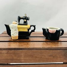 Sewing Machine Creamer Dish  With 2nd Creamer No Lid