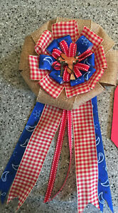 Cowboy Theme Baby Shower Corsage Pin Mommy to be New