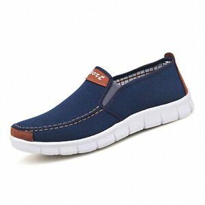Zapatos De Lona Casuales Para Hombre Zapatillas Cómodos Mocasines De Moda Lujo