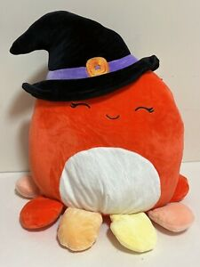 """Squishmallows Official 2021 Halloween 12"""" Detra the Octopus Witch Plush Doll Toy"""