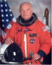 "Nasa Astronaut John Glenn hand signed 8""x10"" Oss Photo"
