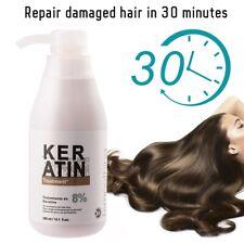 PURC Keratin Straightening8% Treatment Hair Care Conditioner Nutrient 300ml (8%)