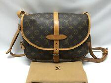 """Auth Louis Vuitton Monogram Saumur 28 Shoulder Bag 9C200260F"""""""