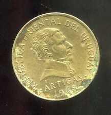 URUGUAY  1  peso 1968