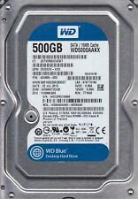 Western Digital 500GB Hard Drive HDD 3.5 WD5000AAKX-60U6AA0 hp p/n 636929-001