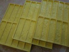 FACE Bricks Set Of 4 Polyurethane 3D Mould Cladding Self MANUFACTURE ROMAN 0.4m2