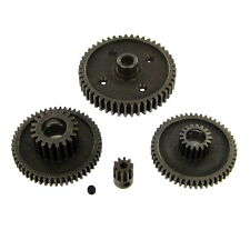 RS10 Steel Gear Set with 10T Pinion. (4 Gears) (1 Set needed for each axle)