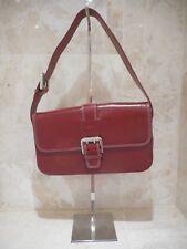 Mulberry Net A Porter Genuine Leather Red Tote Handbag Shoulderbag + Serial No