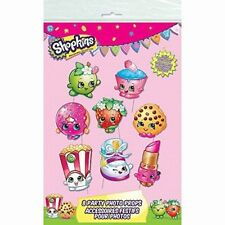 Shopkins Photo Booth Props [8pc] Birthday Party Game Activity Decorations Supply