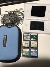 Nintendo DS Lite Konsole Spiele Weiß  Super Mario