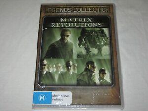 Matrix Revolutions - Keanu Reeves - Brand New & Sealed - Region 4 - DVD