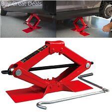 Jack Scissor 1.5 Ton Extra Lifting Automotive Tool Maximum Height 15.4 Inch New