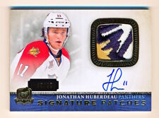 2013-14 The Cup Jonathan Huberdeau Signature Patches Logo Patch Auto Rc (49/99)