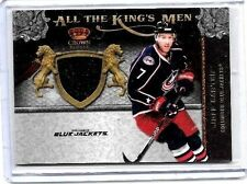 JEFF CARTER 2011 PANINI CROWN ROYALE ALL THE KINGS MEN GAME USED JERSEY