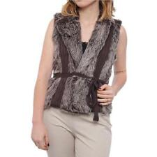 Regular Size Faux Fur Vests for Women