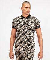 Glorious Gangsta Bantu Mens T Shirt Zip Up Polo Gym Flock Velvet Top Muscle Tee