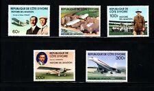 Ivory Coast (1977)  - Scott # 434 - 438