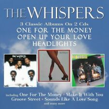 The Whispers - One For The Money / Open Up Your Love / Headlights [New CD] UK -