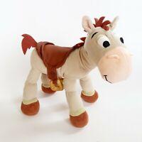 "Disney Parks Bullseye Poseable Plush Horse 10"" Toy Story PIXAR"