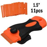 Mini Razor Scraper Removing Glue Plastic Blades Blade Scraping Tool Hand Tools