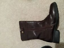 Girls Sunway Boots Size 28 Leather