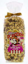 NEW Disney Parks Main Street BUTTER TOFFEE ALMOND Flavor Popcorn Company 9oz Bag