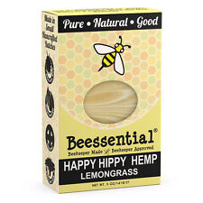 Beessential All Natural Totally Hip Hemp & Lemongrass Small Batch Bar Soap