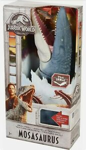 Jurassic World Mosasaurus Fallen Kingdom Real Feel Figure NEW 71cm