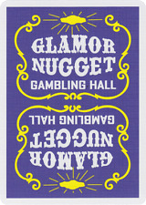 Glamor Nugget Playing Cards (Purple)